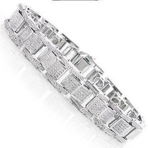 Other - 3.25 Carats diamond men bracelet jewelry solid